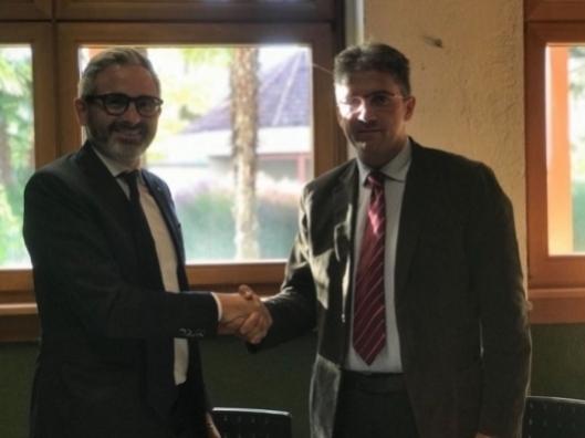 Accordo tra il Centro di Sperimentazione Laimburg e la Fondazione Agrion