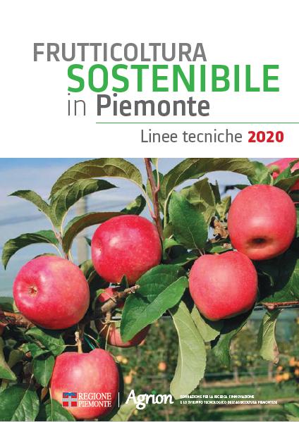 Frutticoltura sostenibile in Piemonte – Linee tecniche 2020