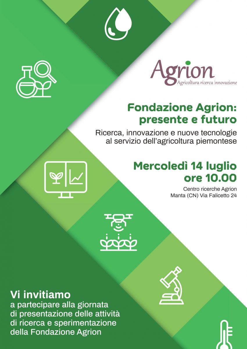 """14/07/2021 Evento """"Fondazione Agrion: presente e futuro"""""""